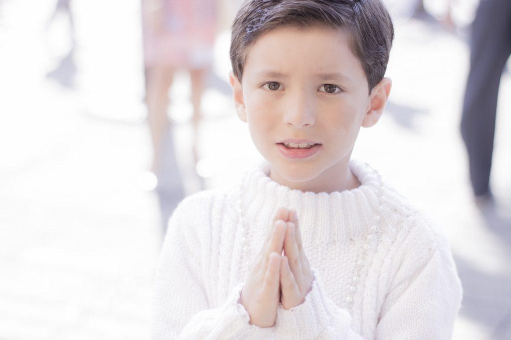 oraciones a Dios para niños