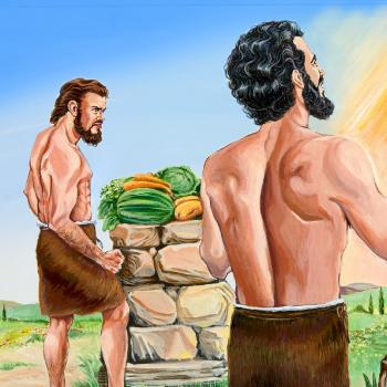caín y abel el primer asesinato de la Biblia por la envidia entre hermanos